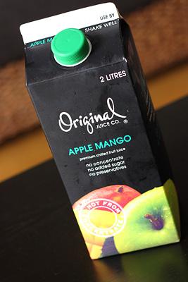 アップルマンゴージュース