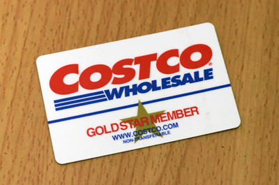 Costco menber card