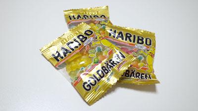 ハリボー ゴールドベア 小袋