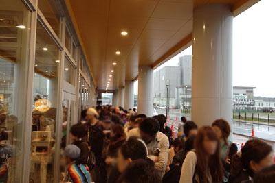 IKEA福岡新宮店 行列
