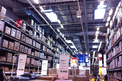 IKEA福岡 セルフサービスエリア