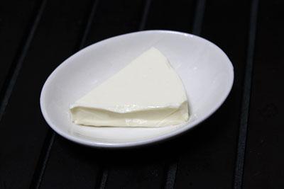 ラーフィングカウの塗るチーズ(中身)