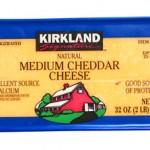カークランド ミディアムチェダーチーズ