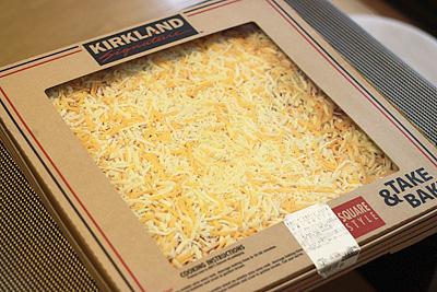 テイクベイク 四角ピザ 5色チーズ