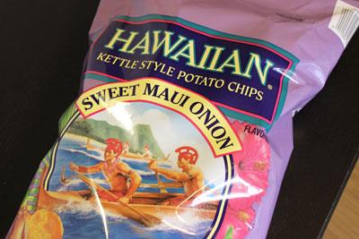 ハワイアン マウイオニオン ポテトチップス