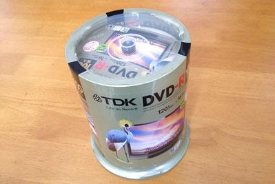 TDK DVD-R CPRM対応 100枚